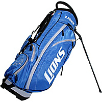 Team Golf NFL Detroit Lions Fairway Stand Bag Blue - Team Golf Golf Bags