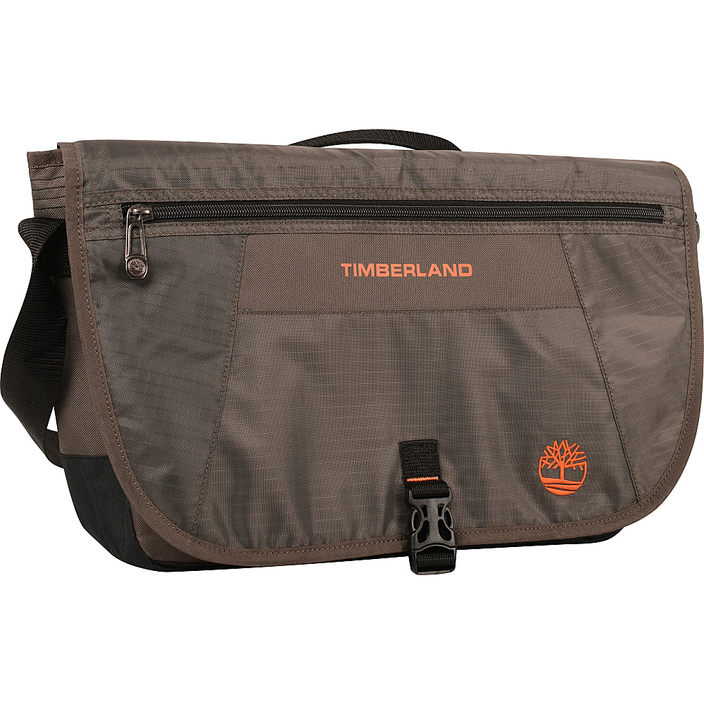 Timberland Twin Mountain 16 Messenger Bag Cocoa Timberland Messenger Bags