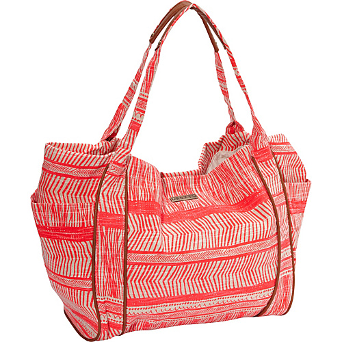 Roxy Voyage Shoulder Bag Watermelon - Roxy Fabric Handbags