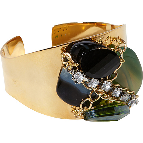 Tammy Spice Accessories Emerald Cuff Gold - Tammy Spice Accessories Jewelry
