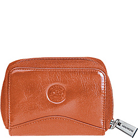Accordion Credit Card Case Orange