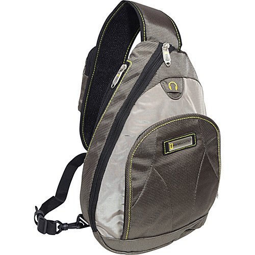 National Geographic Northwall Sling Bag Green/Tan - National Geographic Travel Backpacks