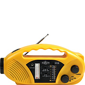 Emergency AM/FM Radio/Flashlight Yellow