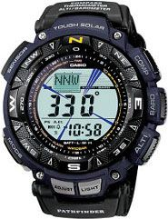 Casio Casio Men's Pathfinder Triple Sensor Multi-Function Sport Watch Black - Casio Watches