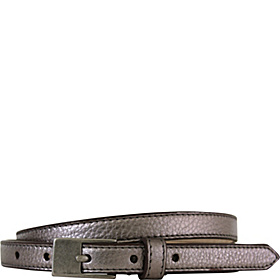 Melbourne Skinny Rectangle Pant Belt Pewter - Large