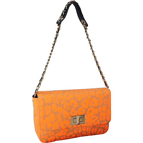 Buy juicy couture handbags - Juicy Couture Leopard Shoulder Bag Neon Orange Leopaed - Juicy Couture Designer Handbags