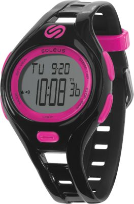 Soleus Dash Small Black/fushia - Soleus Watches