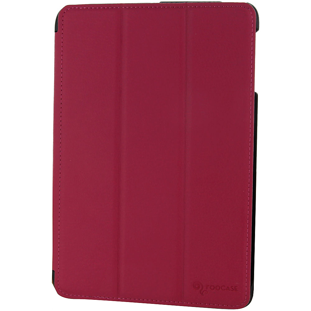rooCASE Slimline Lightweight Shell Case for Apple iPad Mini Magenta - rooCASE Electronic Cases