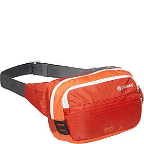 VentureSafe 100 GII Anti-Theft Hip Pack Sunset Red