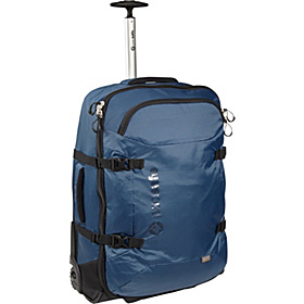 TourSafe 25 Anti-Theft Wheeled Duffel Steel Blue