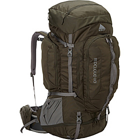 Red Cloud  Internal Frame Backpack 110 M/L Forest green