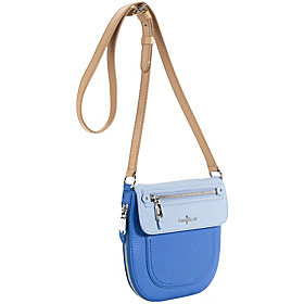 Crosby Colorblock Canteen Crossbody Blue Topaz