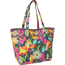 Large Laptop Tote Jazzy Blooms