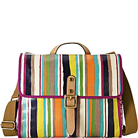 Key Per Flap Crossbody Bright Stripe