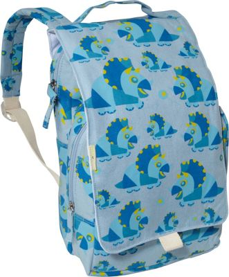 ecogear Dually Backpack Blue Dino - ecogear Everyday Backpacks