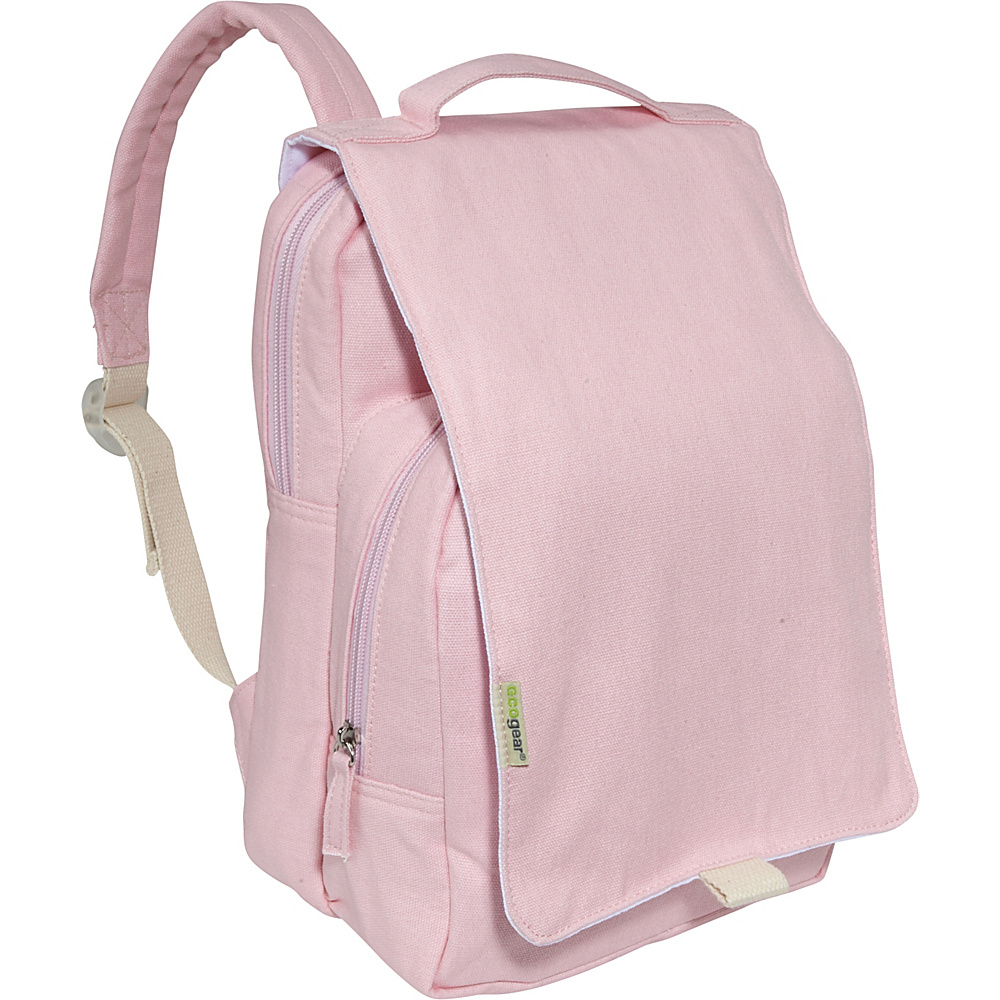 ecogear Dually Backpack Pink - ecogear School & Day Hiking Backpacks