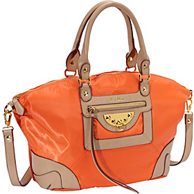 Marais Nylon Belle Satchel Orange