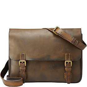 Vintage Archive Postman's Messenger Dark Brown