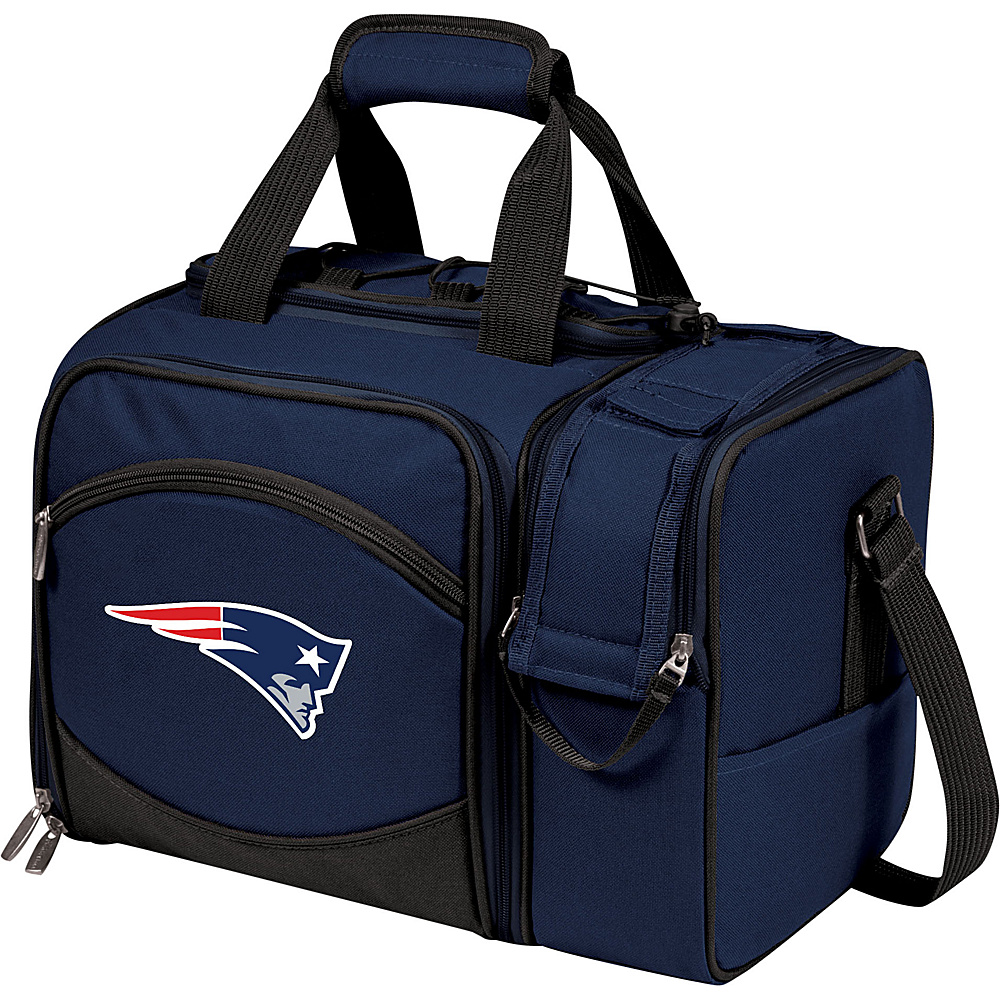 Picnic Time New England Patriots Malibu Insulated Picnic Pack New England Patriots Navy - Picnic Time Outdoor Coolers - Outdoor, Outdoor Coolers