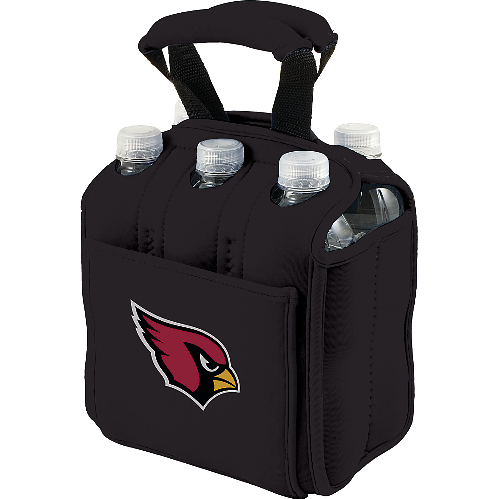 Picnic Time Arizona Cardinals Six Pack Arizona Cardinals Black - Picnic Time Outdoor Accessories - Outdoor, Outdoor Accessories