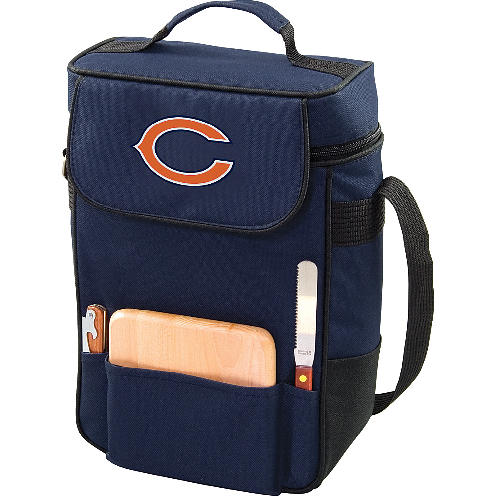Picnic Time Chicago Bears Duet Wine & Cheese Tote Chicago Bears Navy - Picnic Time Outdoor Coolers - Outdoor, Outdoor Coolers