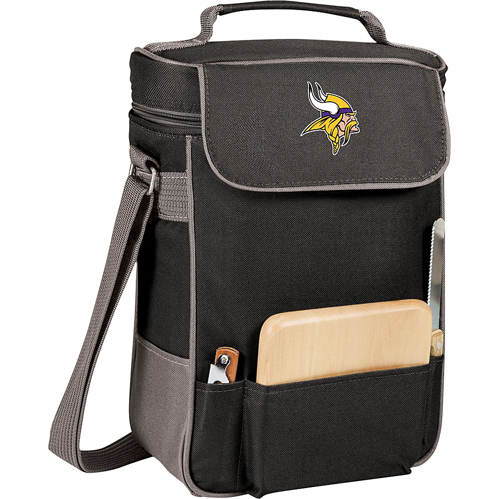 Picnic Time Minnesota Vikings Duet Wine & Cheese Tote Minnesota Vikings - Picnic Time Outdoor Coolers - Outdoor, Outdoor Coolers