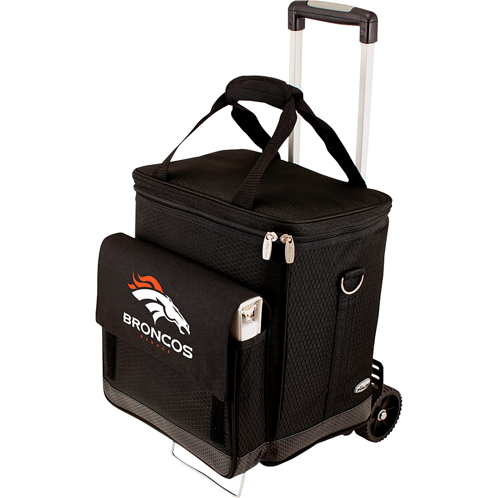 Picnic Time Denver Broncos Cellar w/Trolley Denver Broncos - Picnic Time Outdoor Coolers - Outdoor, Outdoor Coolers