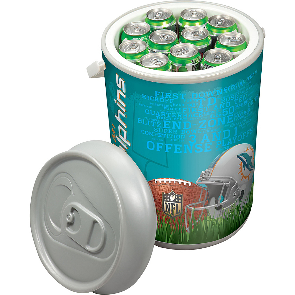 Picnic Time Miami Dolphins Mega Can Cooler Miami Dolphins - Picnic Time Outdoor Coolers - Outdoor, Outdoor Coolers