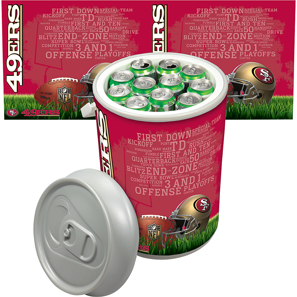 Picnic Time San Francisco 49ers Mega Can Cooler San Francisco 49ers - Picnic Time Outdoor Coolers - Outdoor, Outdoor Coolers