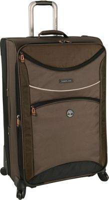 Timberland Rt 4 28 inch Spinner Cocoa - Timberland Softside Checked