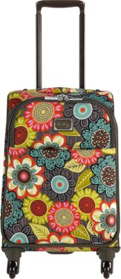 Rolling Flower Luggage 22 Spinner Vera Bradley In Shower