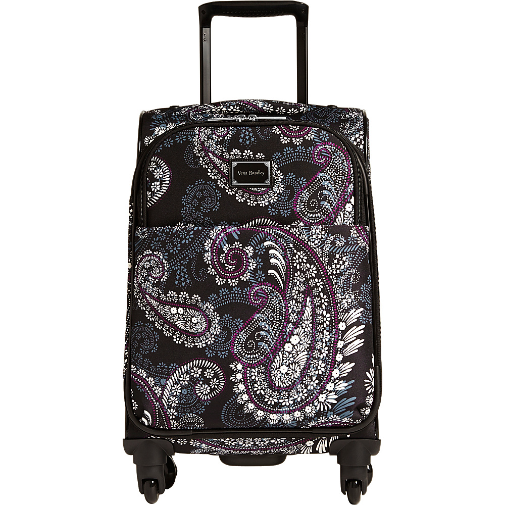 Vera Bradley 22 Spinner Carry-On Paisley Petals - Vera Bradley Softside Carry-On - Luggage, Softside Carry-On