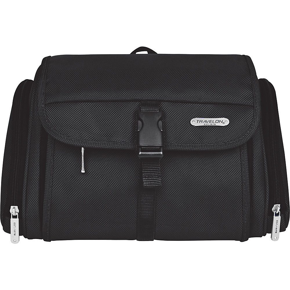 Travelon Hanging Toiletry Kit Black - Travelon Toiletry Kits - Travel Accessories, Toiletry Kits