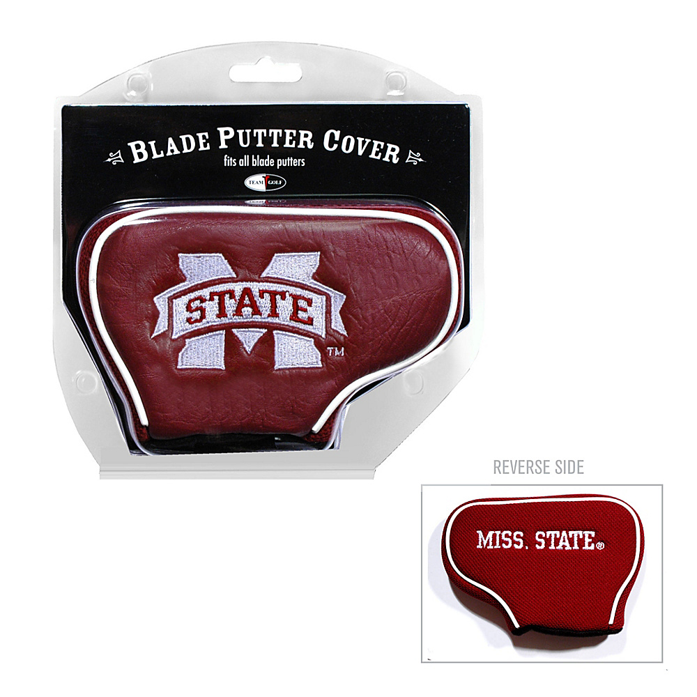 Team Golf USA Mississippi State University Bulldogs Blade Putter Cover Team Color - Team Golf USA Golf Bags