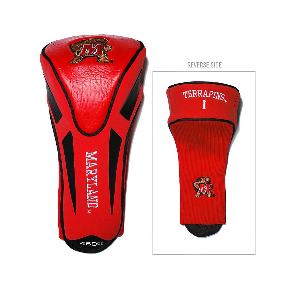 Team Golf USA University of Maryland Terrapins Single Apex Headcover Team Color - Team Golf USA Golf Bags