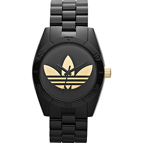 adidas originals Watches Originals Santiago Black and Gold - adidas originals Watches Watches