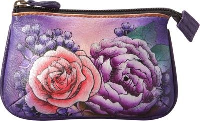 Anuschka Medium Coin Purse Lush Lilac - Anuschka Women's Wallets