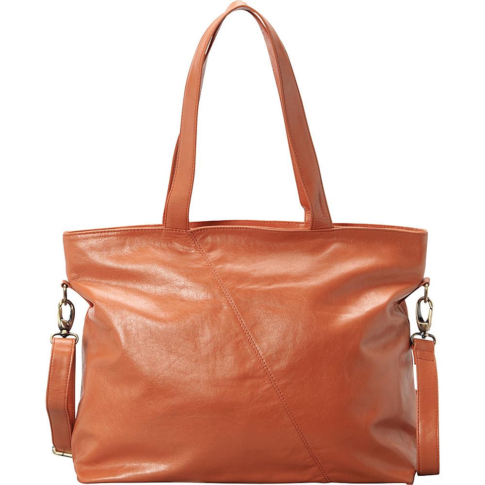 Latico Leathers Flynn Tote Salmon - Latico Leathers Leather Handbags - Handbags, Leather Handbags