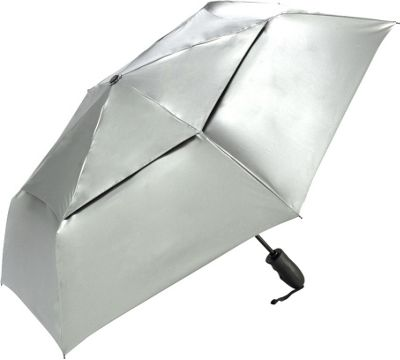ShedRain ShedRain Shedrays Vented Auto Open & Close Umbrella Silver - ShedRain Umbrellas and Rain Gear