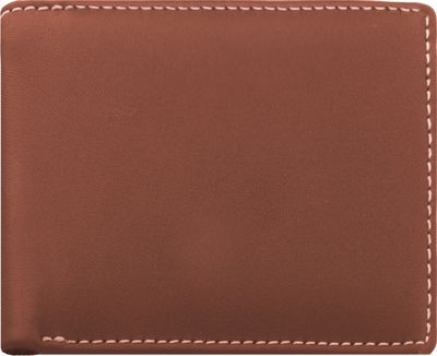 Stewart Stand Leather Exterior Bill Fold Stainless Steel Wallet- RFID Tan - Stewart Stand Men's Wallets