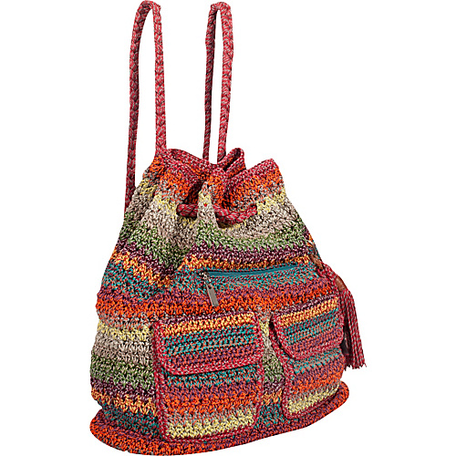 The Sak Casual Classics Backpack Gypsy Stripe - The Sak Fabric Handbags