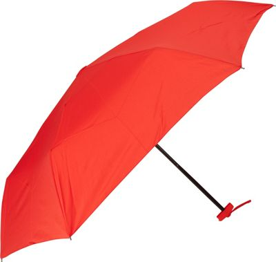 Samsonite Travel Accessories Manual Compact Flat Umbrella Red - Samsonite Travel Accessories Umbrellas and Rain Gear