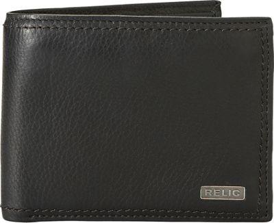 Relic Mark Traveler Wallet Black - Relic Men's Wallets
