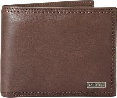 Relic Mark Traveler Wallet Brown - Relic Men's Wallets