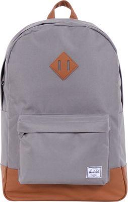 Herschel Supply Co. Heritage Laptop Backpack - 15 inch Grey - Herschel Supply Co. Business & Laptop Backpacks