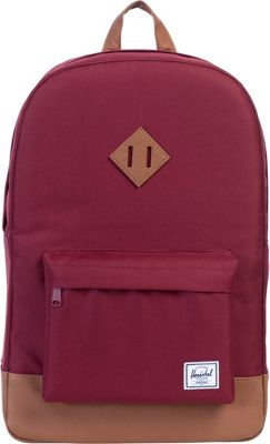 Herschel Supply Co. Heritage Laptop Backpack - 15 inch Windsor Wine - Herschel Supply Co. Business & Laptop Backpacks