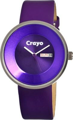Crayo Button Purple - Crayo Watches