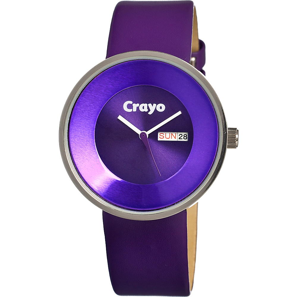 Crayo Button Purple Crayo Watches