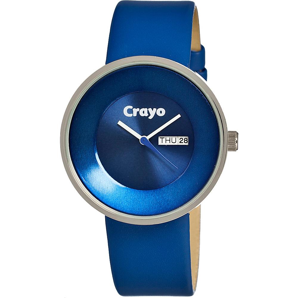 Crayo Button Blue Crayo Watches