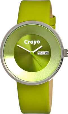 Crayo Button Green - Crayo Watches
